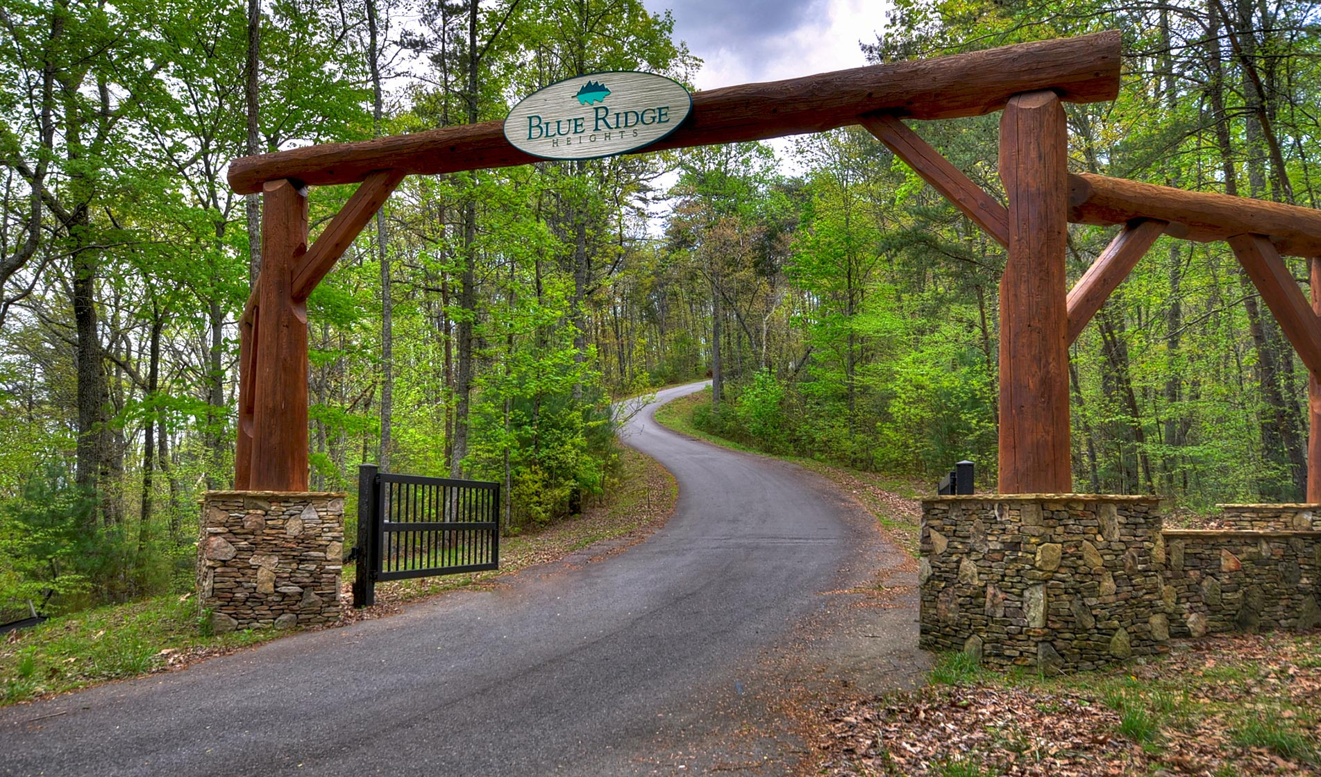 Blue Ridge Heights Main Gate